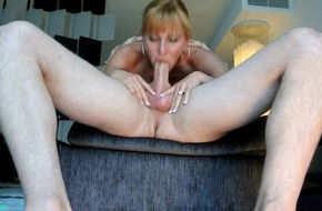 Blonde amature blowjob