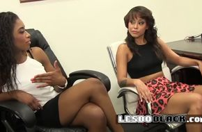 Pussy grinding black lesbians