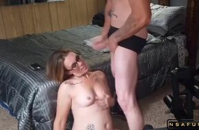 Swallow huge cum load